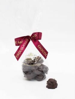 Rocher praliné au chocolat noir