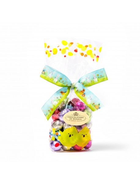 Sachet mixed easter eggs 300g